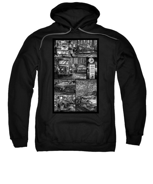 Junk Yard Cars Sweatshirt
