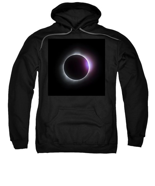 Just After Totality - Solar Eclipse August 21, 2017 Sweatshirt