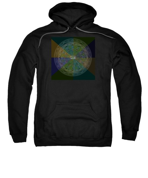Kaleidoscope Eye Sweatshirt