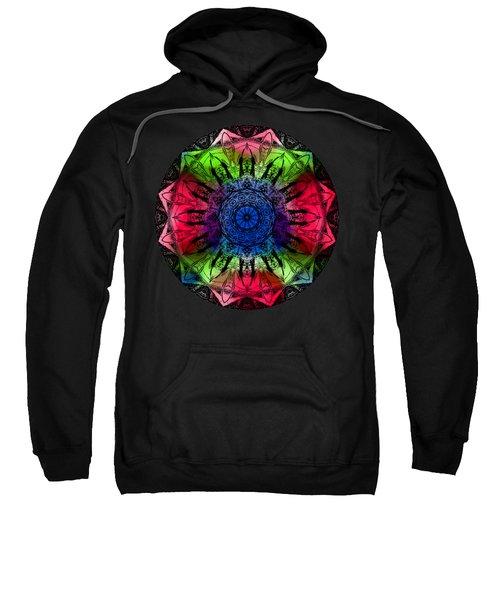 Kaleidoscope - Warm And Cool Colors Sweatshirt