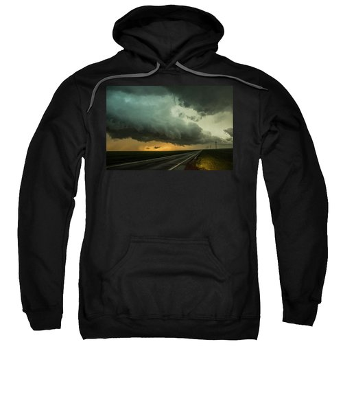 Kansas Storm Chase Bust Day 004 Sweatshirt