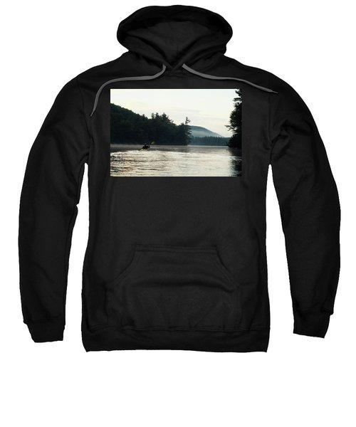 Kayak In The Fog Sweatshirt