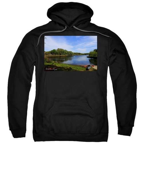 Kayaking The Cotee River Sweatshirt