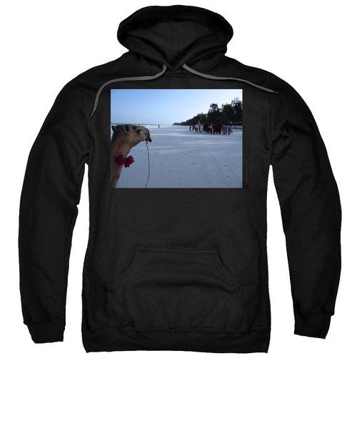 Kenya Wedding On Beach Distance Sweatshirt