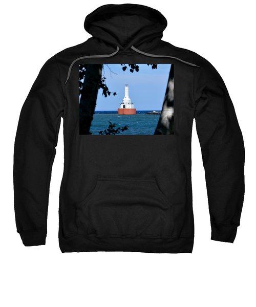 Keweenaw Waterway Lighthouse. Sweatshirt
