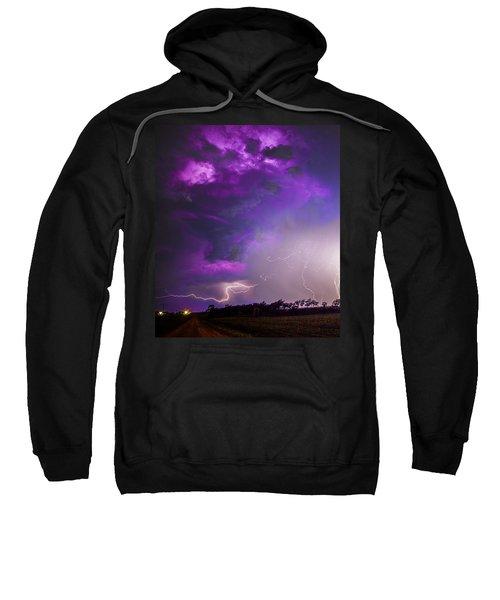 Kewl Nebraska Cg Lightning And Krawlers 038 Sweatshirt