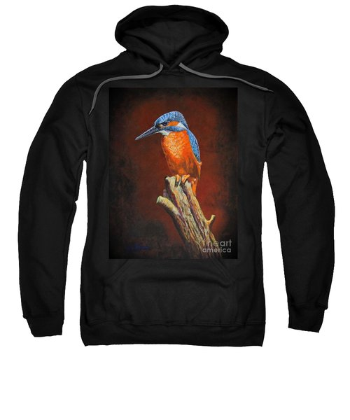Kingfish.....waiting For Dinner Sweatshirt