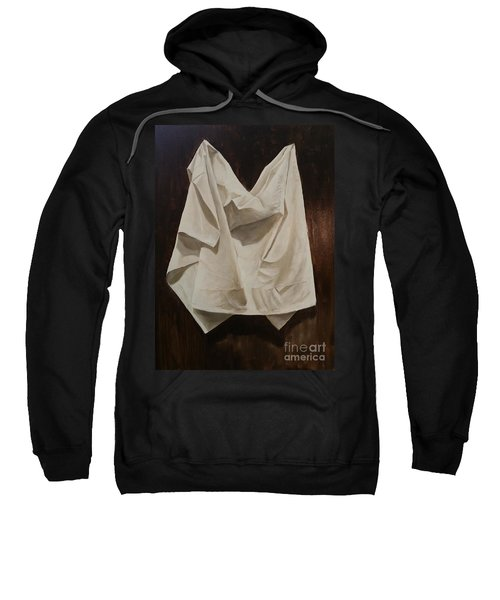 Painting Alla Rembrandt - Minimalist Still Life Study Sweatshirt