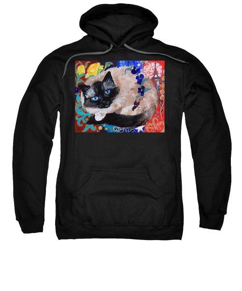 Kitty Goes To Paris Sweatshirt