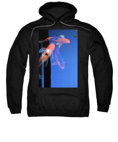 Koi Vi  Blue Sweatshirt