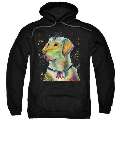 Labrador Retriever Art Sweatshirt by Melly Terpening