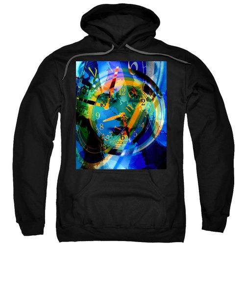 Lady Time Traveler 2a Sweatshirt