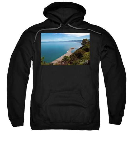 Lagoon Of Tindari On The Isle Of Sicily  Sweatshirt