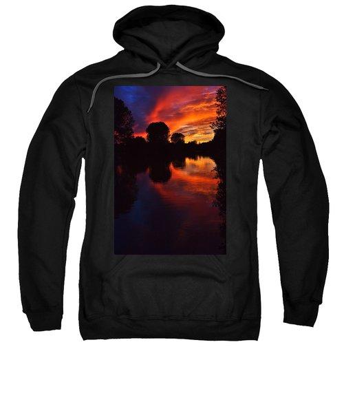 Lake Sunset Reflections Sweatshirt