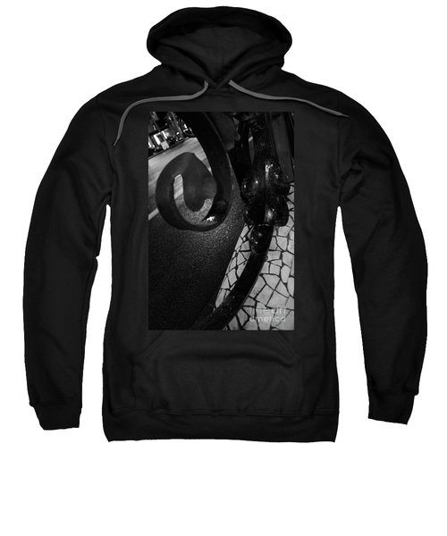 Lamppost Of Passeig De Gracia Sweatshirt