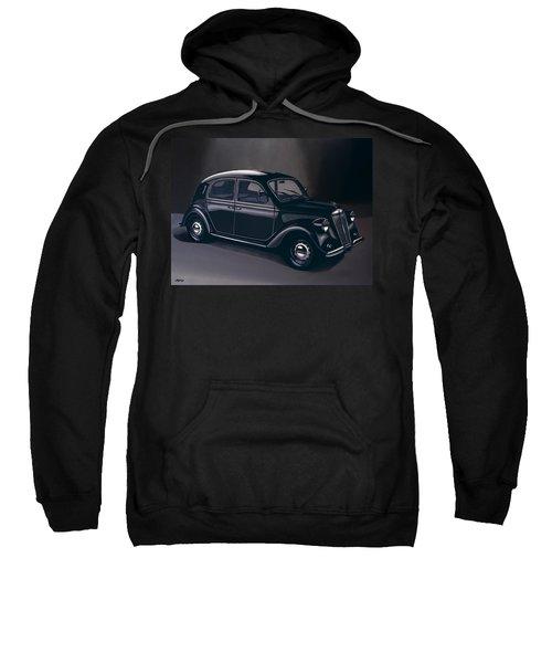 Lancia Ardea 1939 Painting Sweatshirt