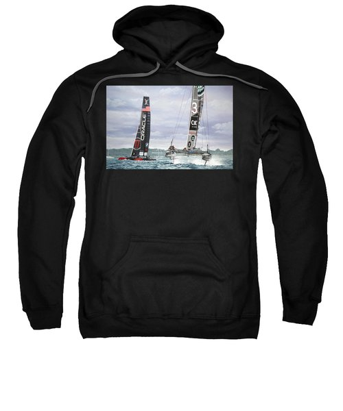 Land Rover Bar And Oracle Team Usa Louis Vuitton America's Cup World Series, Portsmouth 2016 Sweatshirt