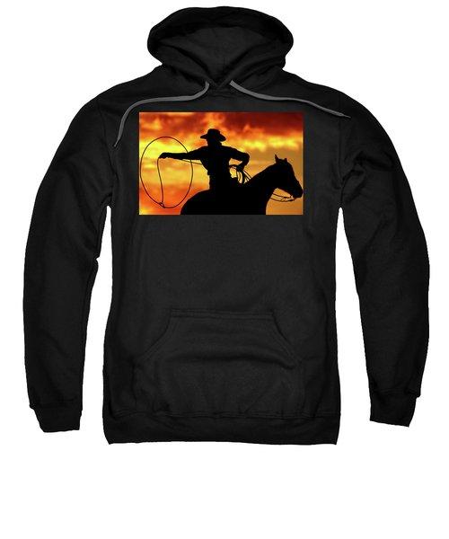 Lasso Sunset Cowboy Sweatshirt