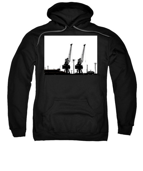 Sweatshirt featuring the photograph Last To The Ark by Stephen Mitchell