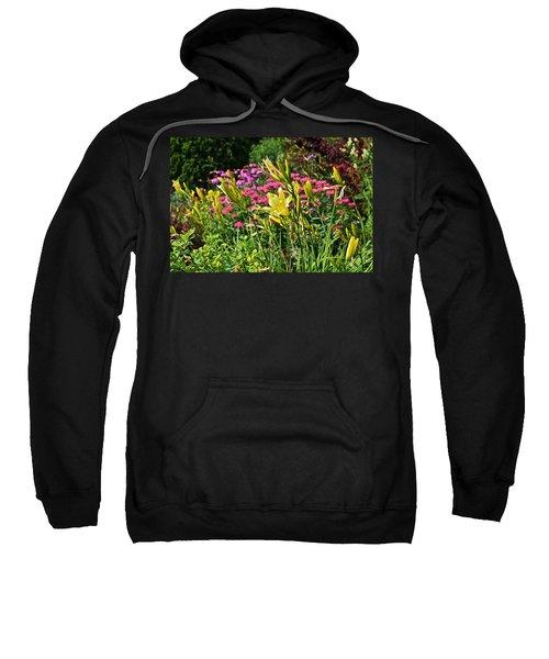 Late July Garden 1 Sweatshirt
