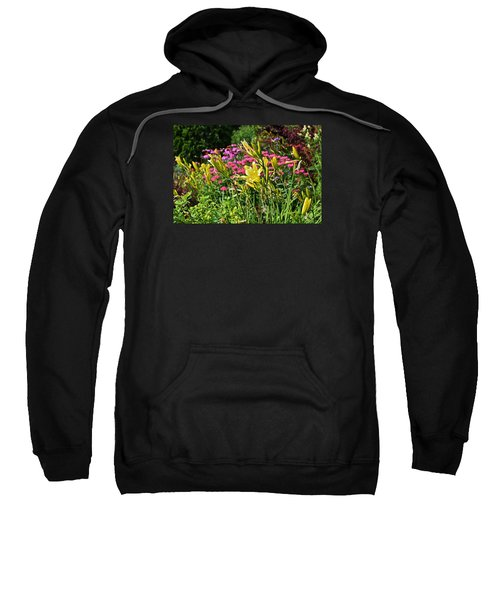 Late July Garden 1 Sweatshirt