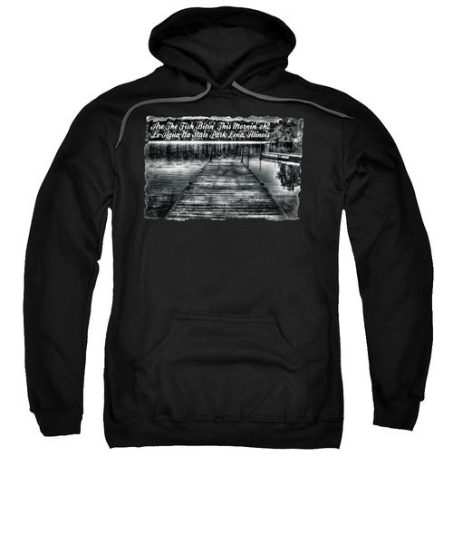 Le-aqua-na Boat Dock October Morning Sweatshirt