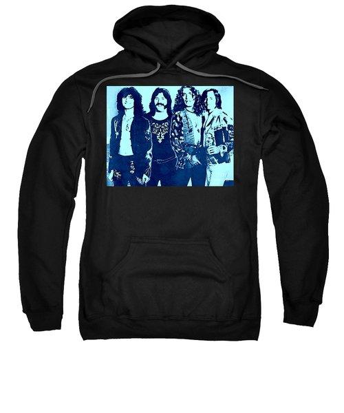 Led Zeppelin Blue  Sweatshirt