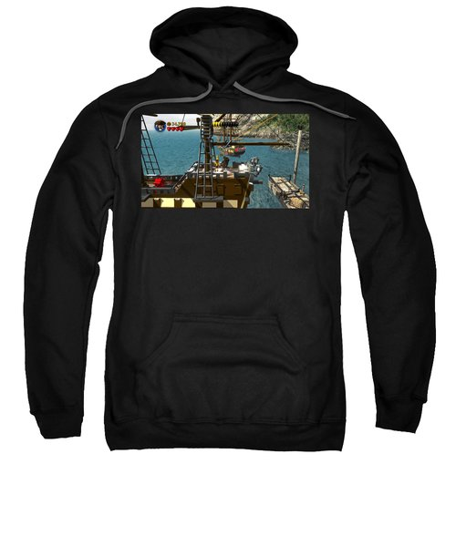 Lego Pirates Of The Caribbean The Video Game Sweatshirt