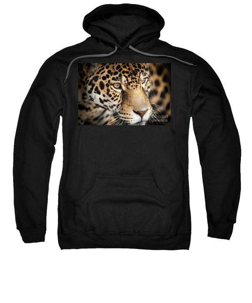 Leopard Face Sweatshirt
