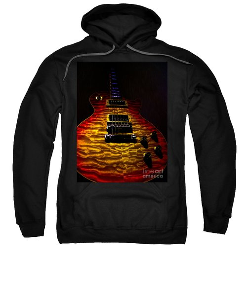 Guitar Custom Quilt Top Spotlight Series Sweatshirt