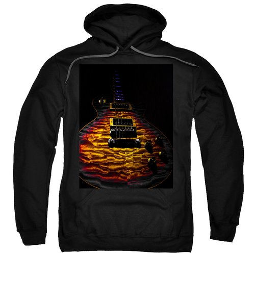 Tri-burst Quilt Top Guitar Spotlight Series Sweatshirt