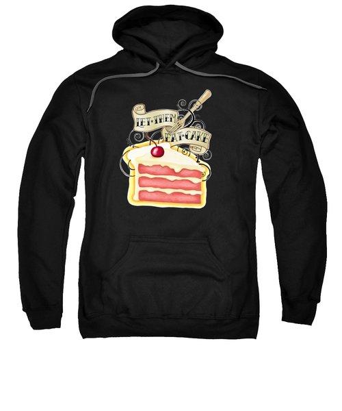 Let Them Eat Cake Traditional Tattoo Style Sweatshirt