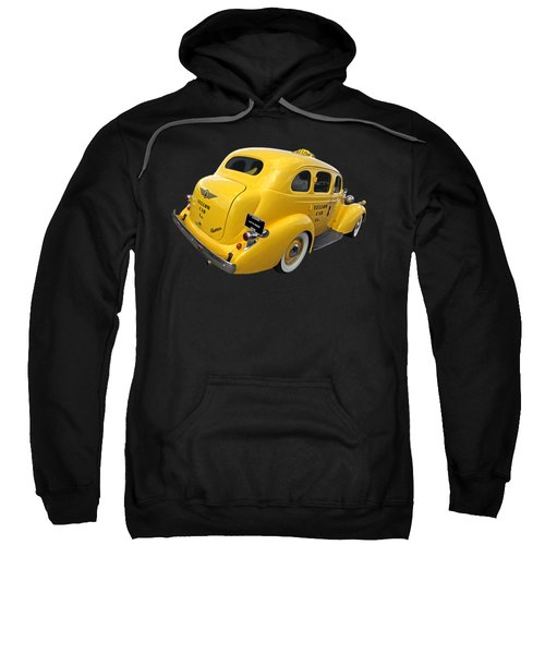 Let's Ride - Studebaker Yellow Cab Sweatshirt by Gill Billington