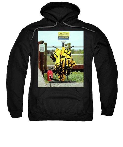 Life Jacket Station Sweatshirt