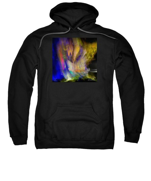 Sweatshirt featuring the photograph Light Magic by Dee Flouton