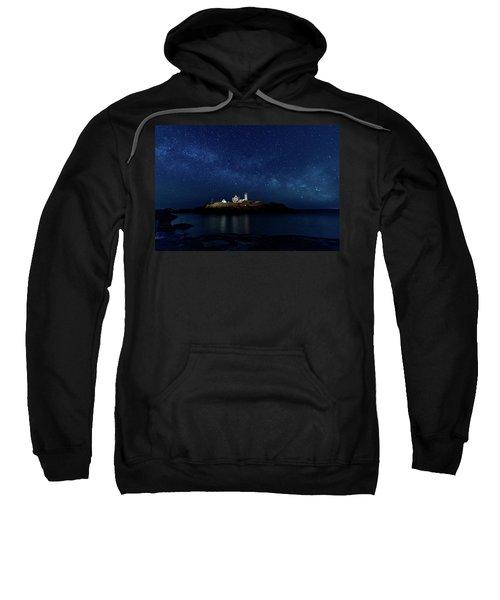 Light Up Nubble Lighthouse Sweatshirt