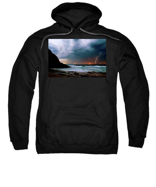 Lightning Strike Off Dana Point California Sweatshirt