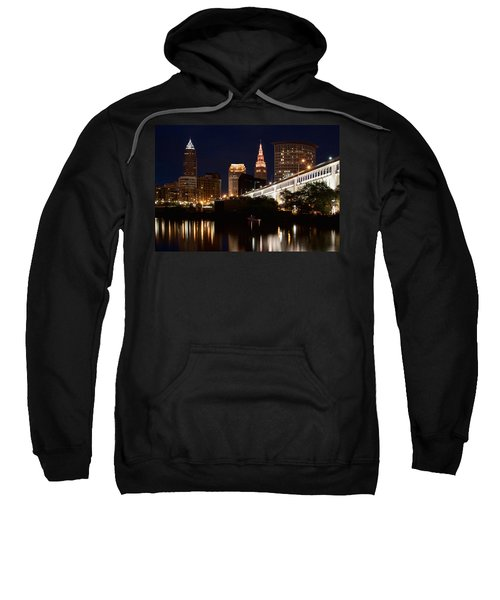 Lights In Cleveland Ohio Sweatshirt