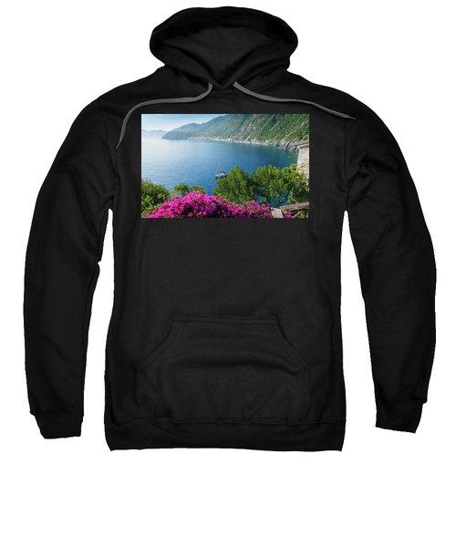 Ligurian Sea, Italy Sweatshirt