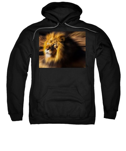 Lion The King Is Comming Sweatshirt