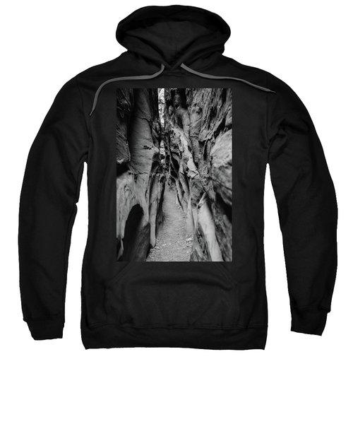Little Wild Horse Canyon Bw Sweatshirt