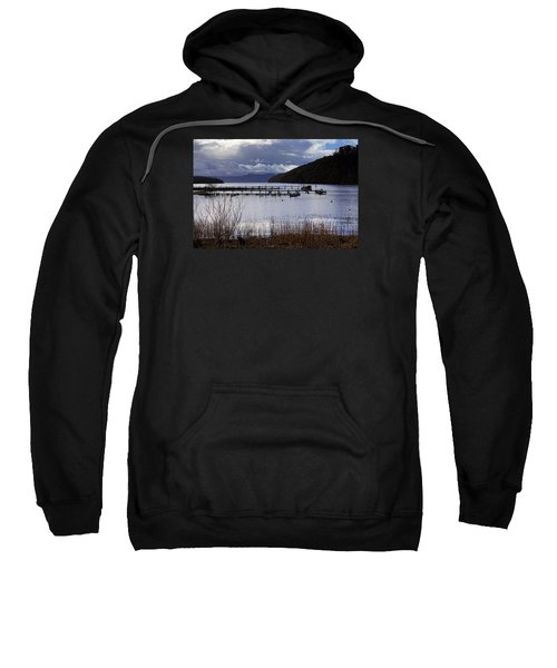Sweatshirt featuring the photograph Loch Lomond by Jeremy Lavender Photography