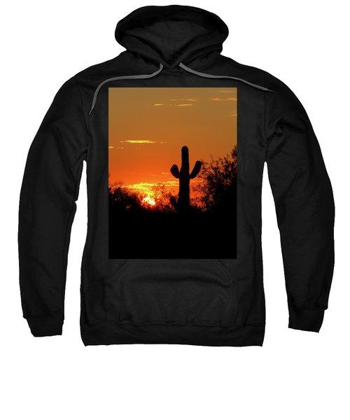 Lone Saguaro Sunrise Sweatshirt