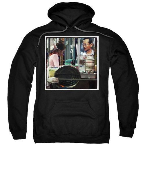 Sweatshirt featuring the photograph Long Live The King. Even After His by Mr Photojimsf