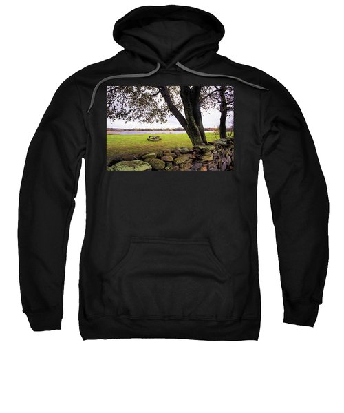 Looking Over The Wall Sweatshirt