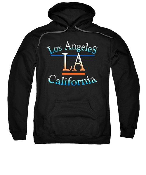 Los Angeles California Design Sweatshirt