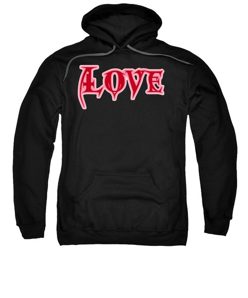 Love Text Sweatshirt