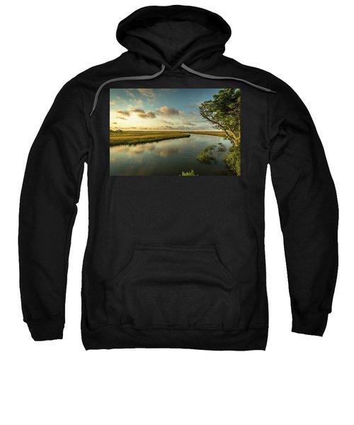 Pitt Street Bridge Creek Sunrise Sweatshirt