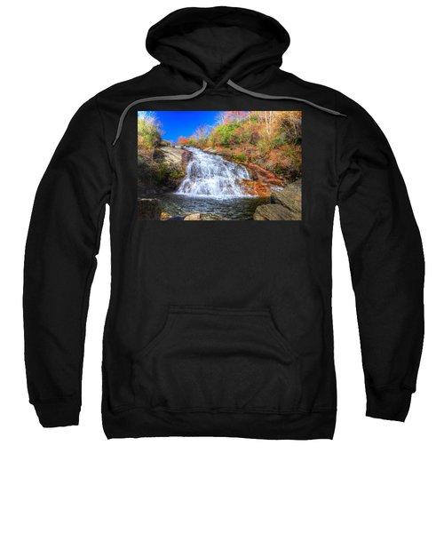 Lower Falls At Graveyard Fields Sweatshirt