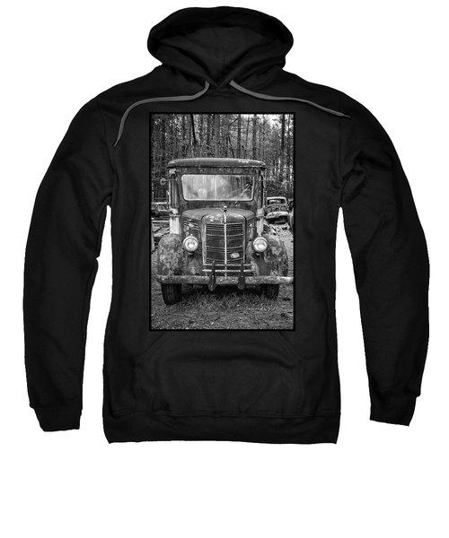 Mack Truck In A Junkyard Sweatshirt